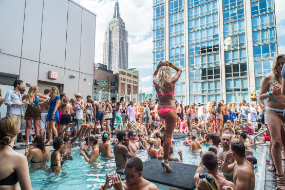 Where To Find A Pool Party Or Rooftop Party In New York 2012
