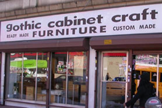 Gothic cabinet craft for Gothic cabinet craft new york ny