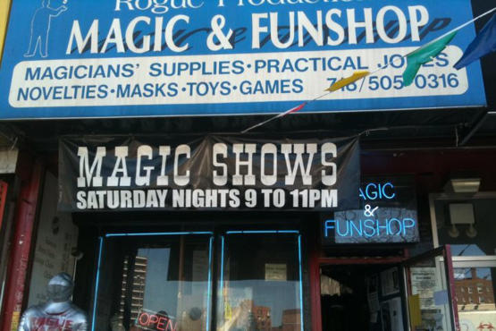 Rogue Magic & Funshop