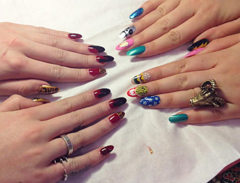 The Ornamented Claw: Nail Art in NYC