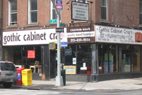 Gothic Cabinet Craft 104 Third Ave Shops Time Out
