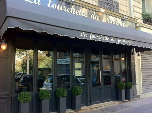 Restaurants la fourchette paris