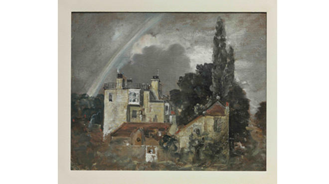 The Grove, or Admiral's House, Hampstead, John Constable, 1821