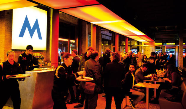 F brica moritz ronda sant antoni 39 eixample esquerre 08011 restaurantes y caf s time out - Moritz ronda sant antoni ...