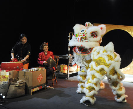 Why The Lion Danced performed by Yellow Earth Theatre Company