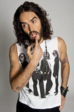 russell brand give it up for comic relief