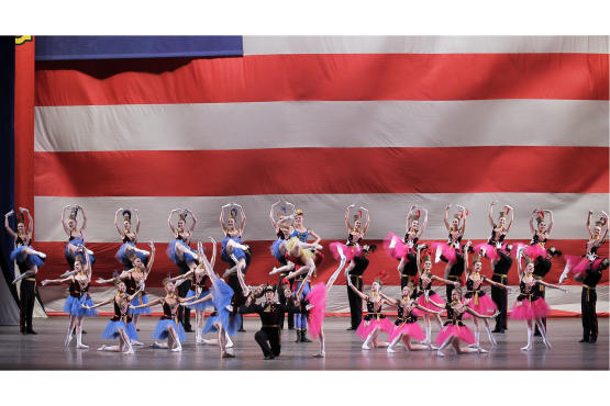 New York City Ballet, Stars and Stripes