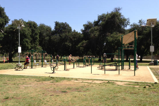 angeles things free workouts circuit training parks