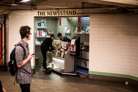 Check Out An Indie Newsstand At A Williamsburg Subway Stop