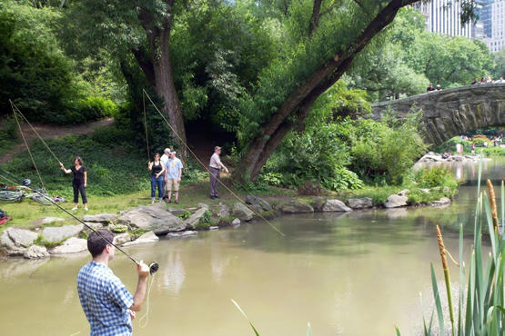 Fly fishing 101 classes workshops time out new york for Orvis fly fishing 101