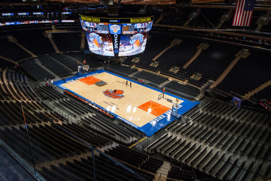 Check Out The New And Improved Madison Square Garden Video