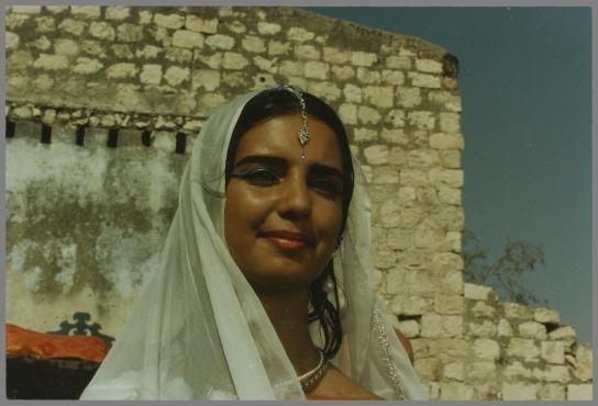 Photographie de plateau d'Esther de Amos Gitai, 1986