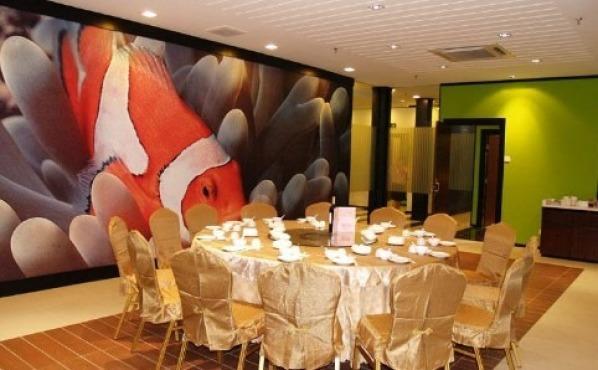Unique seafood pj wedding