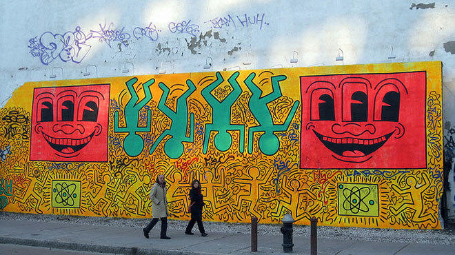 A brief history of the Bowery Mural the Lower East Sides street