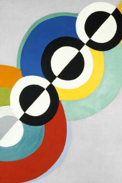 Exposition Robert Delaunay au Centre Pompidou