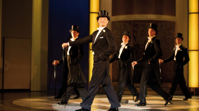 Tom Chambers as Jerry Travers in Top Hat Photo by Alaistair Muir.jpg