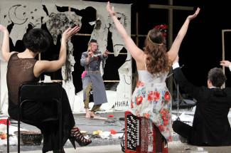 Chaika (The Seagull) at The Satirikon Theatre, Moscow, Russia