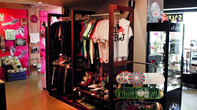 Exclusive brands at Homegrown, Rio de Janeiro, Brazil