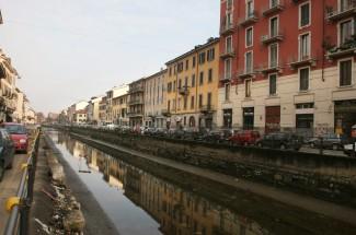 Navigli (canals), Milan, Italy