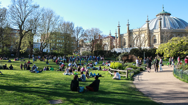 Pavilion Gardens, Brighton