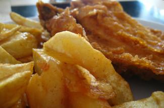 Bardsley's fish and chips, Brighton, UK