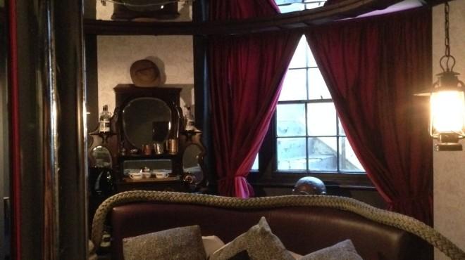 Kraken's Lair bedroom at Hotel Pelirocco, Brighton