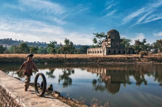 Dai ka Mahal, royal nannies' residence, Mandu, India