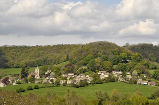 Owlpen Valley, the Cotswolds