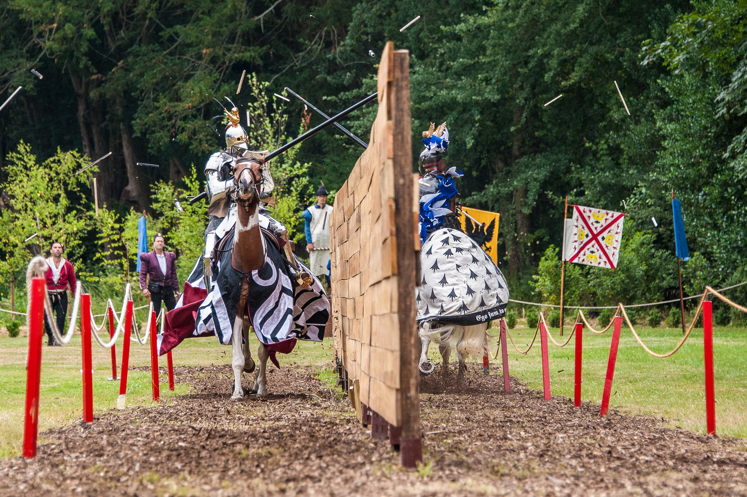 Tuesday 23rd July 2013 Joust Week at Arundel Castle, Arundel, West Sussex, UK