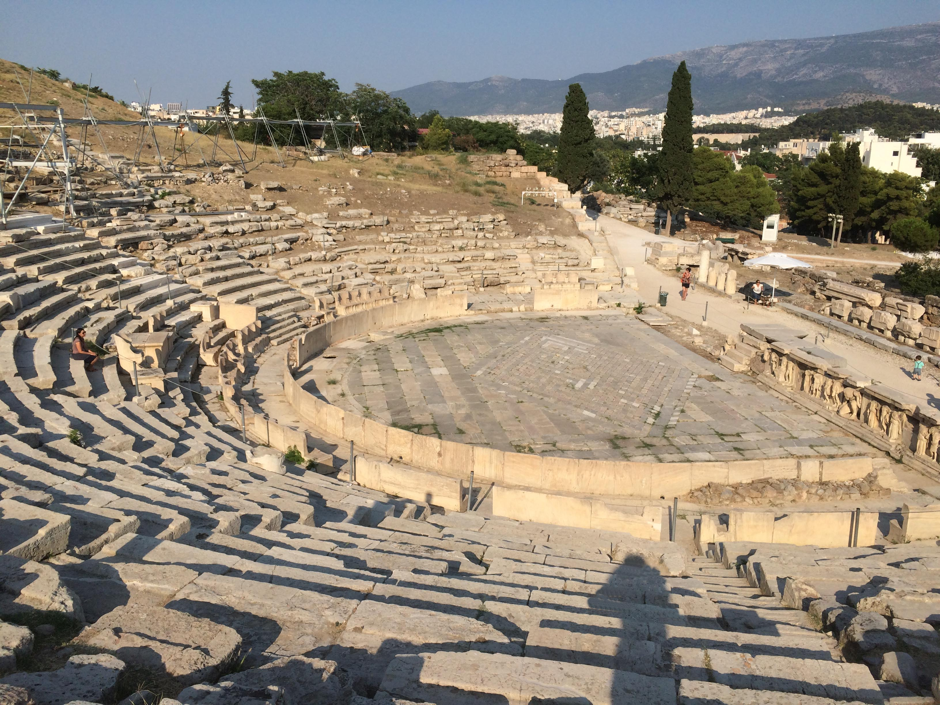 Theatre of Dionysus, the Acropolis, Athens