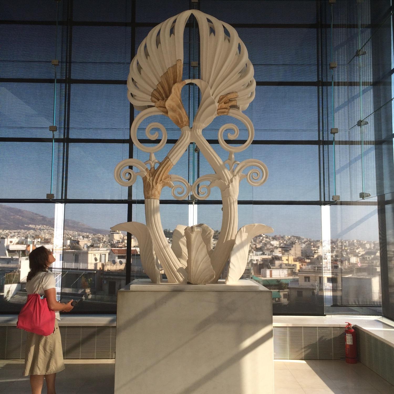 Acroterion sculpture, Acropolis Museum, Athens