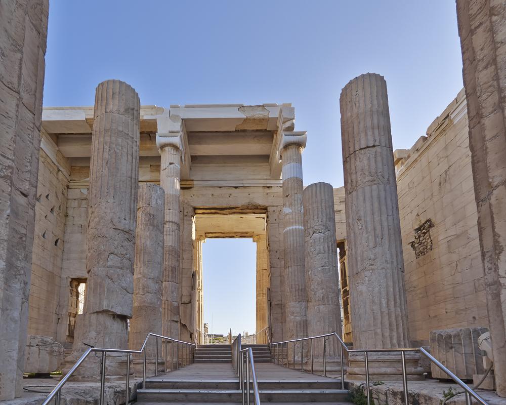 Propylaeum gate, Acropolis, Athens